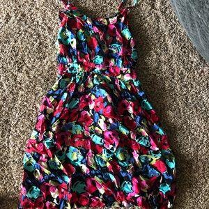 Floral tank dress